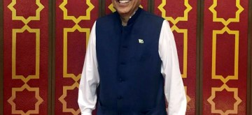 Arif Alvi. (File Photo: IANS)