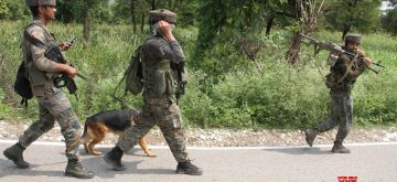 Reasi: Security personnel conduct search operations after one of the three militants who had fired at two persons on the Jammu-Srinagar highway in Udhampur district before escaping, was killed, in Jammu and Kashmir's Reasi district on Sept 13, 2018. According to a police officer, three security men were also injured as a gunfight erupted in the Kakriyal area with the holed up militants who were tracked down to a house in Reasi district. (Photo: IANS)