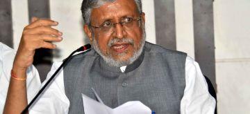 Sushil Kumar Modi. (File Photo: IANS)