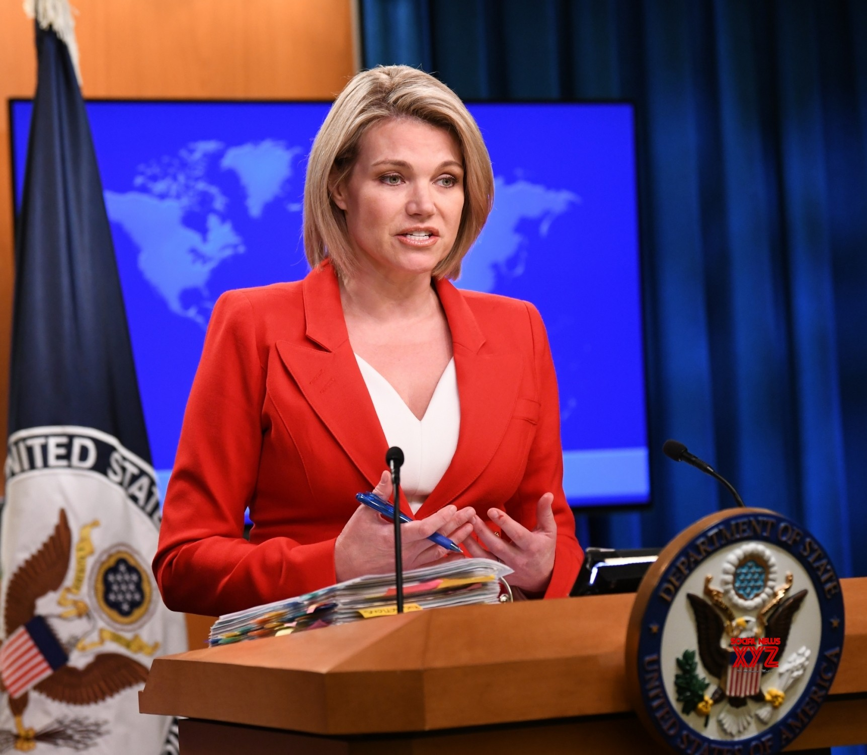 Trump says he wants Nauert as next United Nations  ambassador