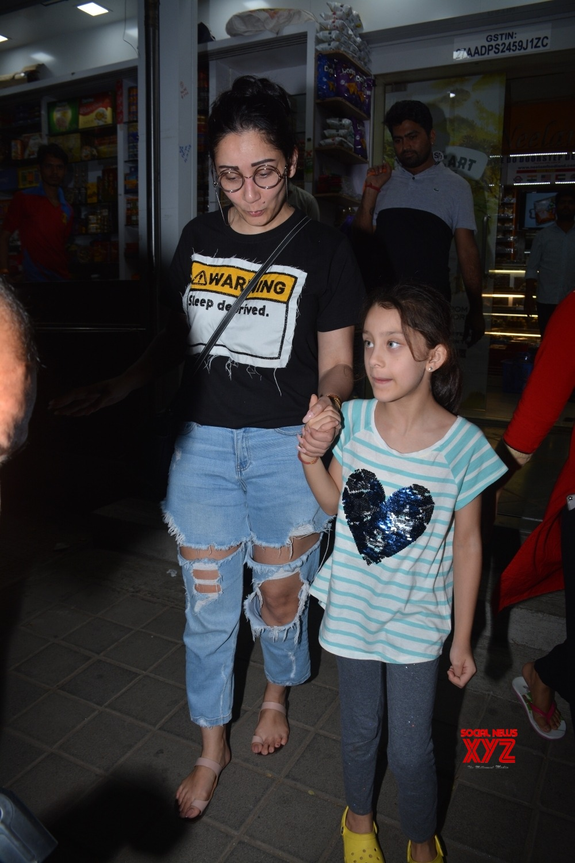Mumbai: Maanayata Dutt and Iqra Dutt seen at Mumbai's Bandra