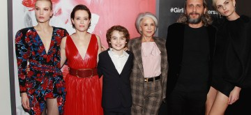 New York, New York  11/4/18 - , Sylvia Hoeks  , Claire Foy ,Christopher Convery ,Elizabeth Cantillon, Fede Alvarez and Andreja Pejic at the New York Special Screening of Columbia PicturesÕ THE GIRL IN THE SPIDERÕS WEB at the Henry Luce Auditorium. ÊÊ