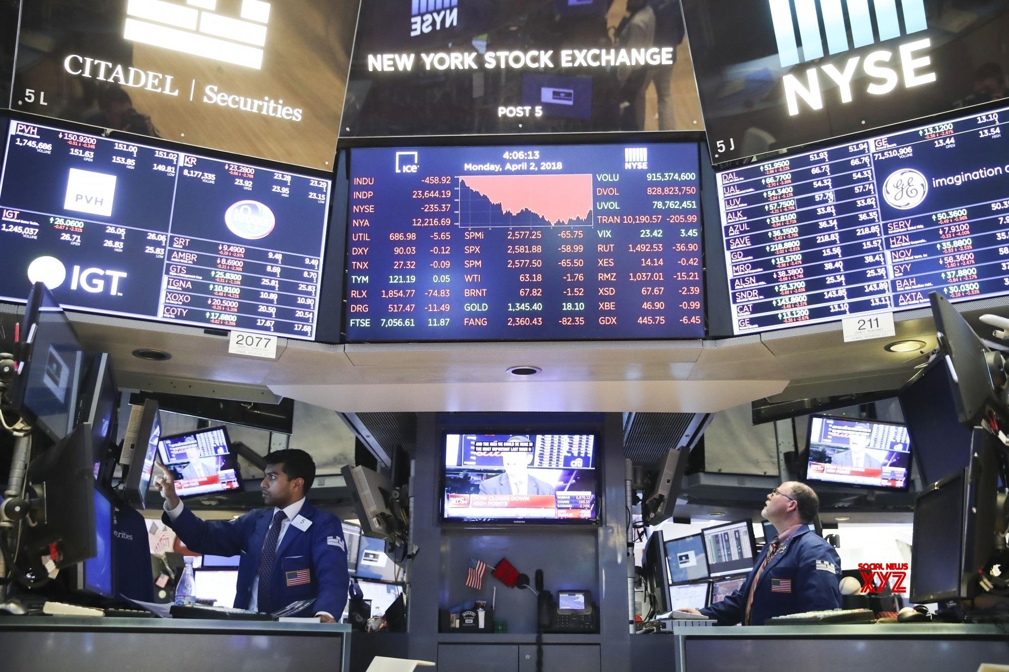 US stocks end mixed amid coronavirus uncertainty