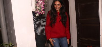 Mumbai: Actress Deepika Padukone seen at Krome studio in Mumbai's Bandra on Dec 7, 2018. (Photo: IANS)