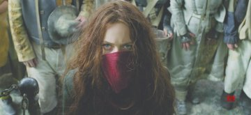 """Hera Hilmar as Hester Shaw in """"Mortal Engines."""" The film is directed by Christian Rivers, and written by Fran Walsh, Philippa Boyens and Peter Jackson based on the novel by Philip Reeve."""