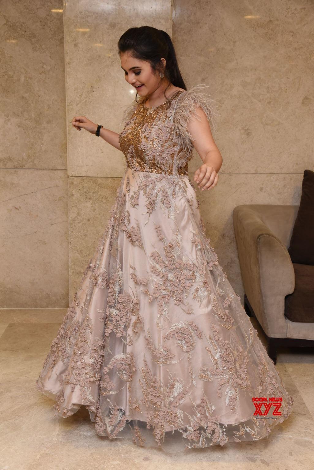 Actress Ramya Pasupuleti Stills From Hushaaru Pre Release Event