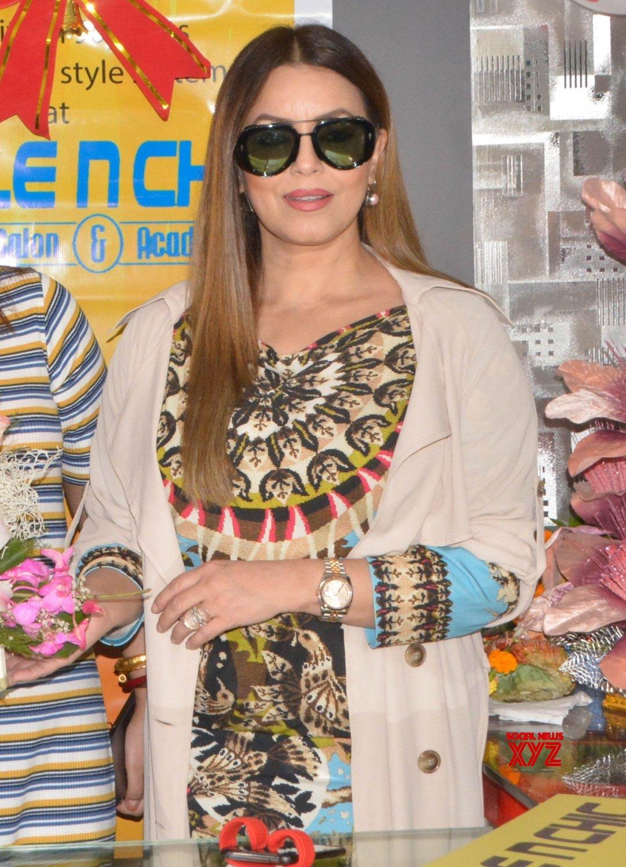 Kolkata: Mahima Chaudhary during a promotional programme #Gallery