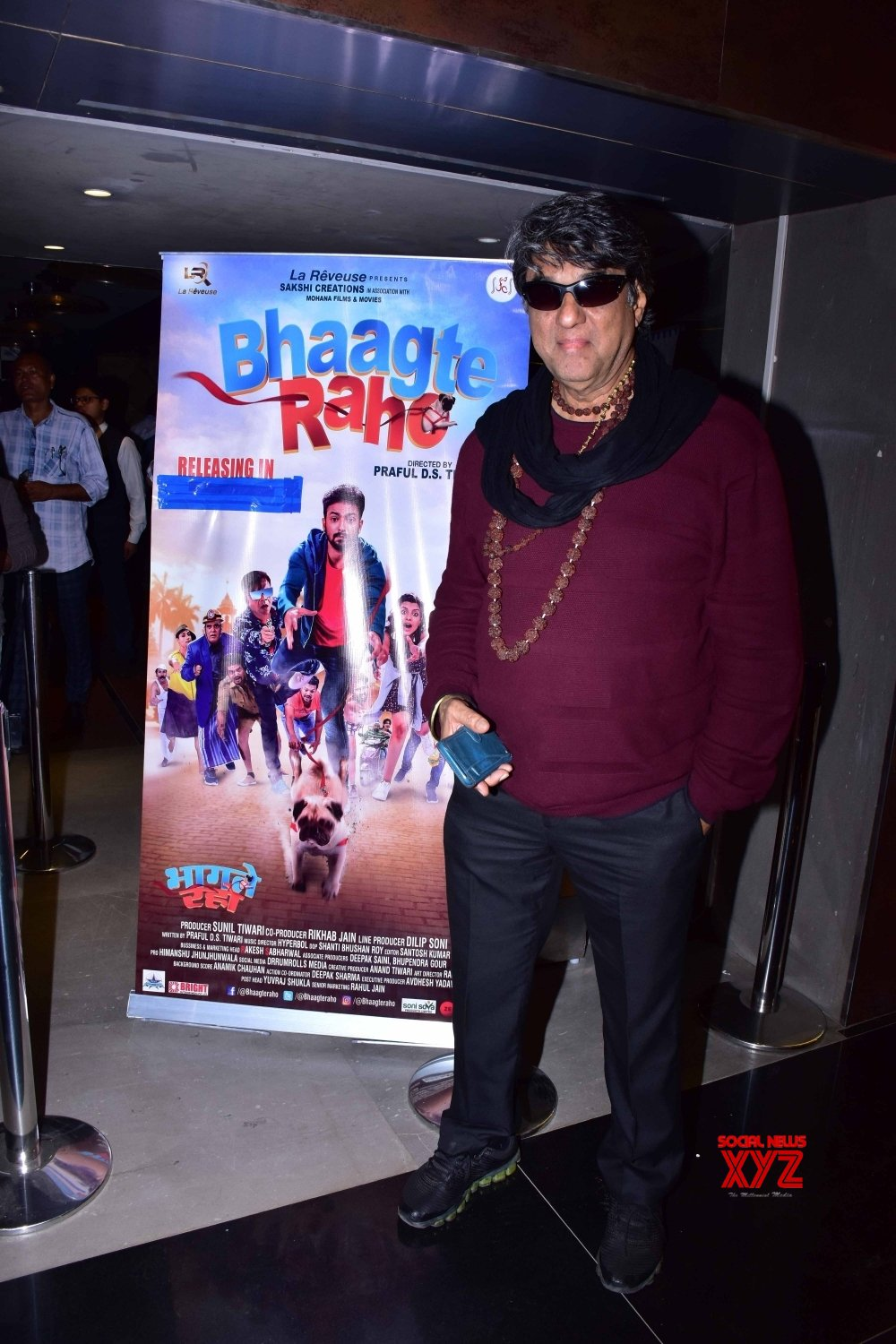 "Mumbai: Screening of film ""Bhaagte Raho"" #Gallery"