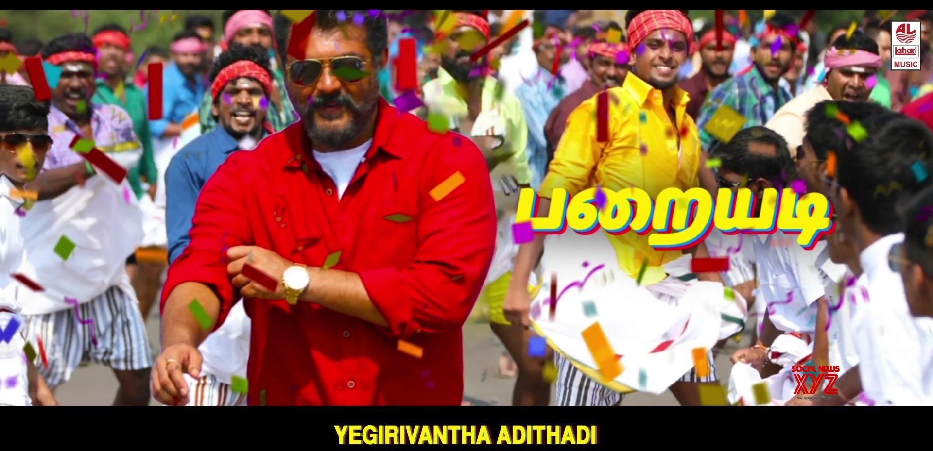 Vettikattu Song Stills From Viswasam Movie
