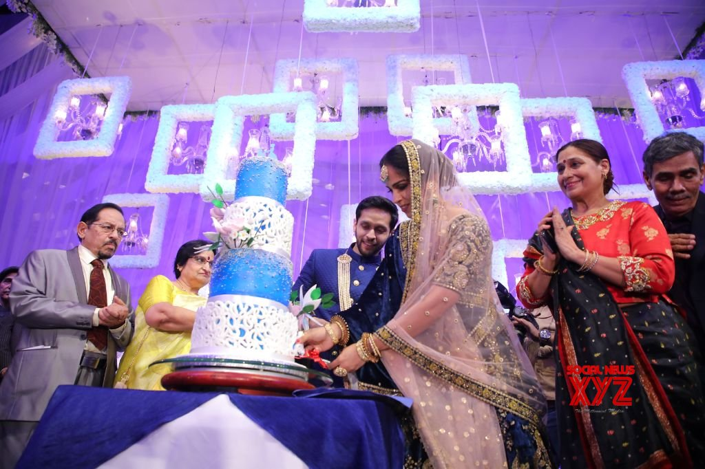 Saina Nehwal And Parupalli Kashyap Wedding Reception At HICC Novotel Gallery Set 4