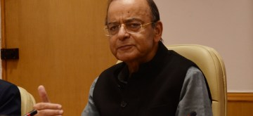 New Delhi: Union Finance Minister Arun Jaitley addresses a press conference organised to release NITI Aayog's 'Strategy for New India @75', in New Delhi on Dec 19, 2018. (Photo: IANS)