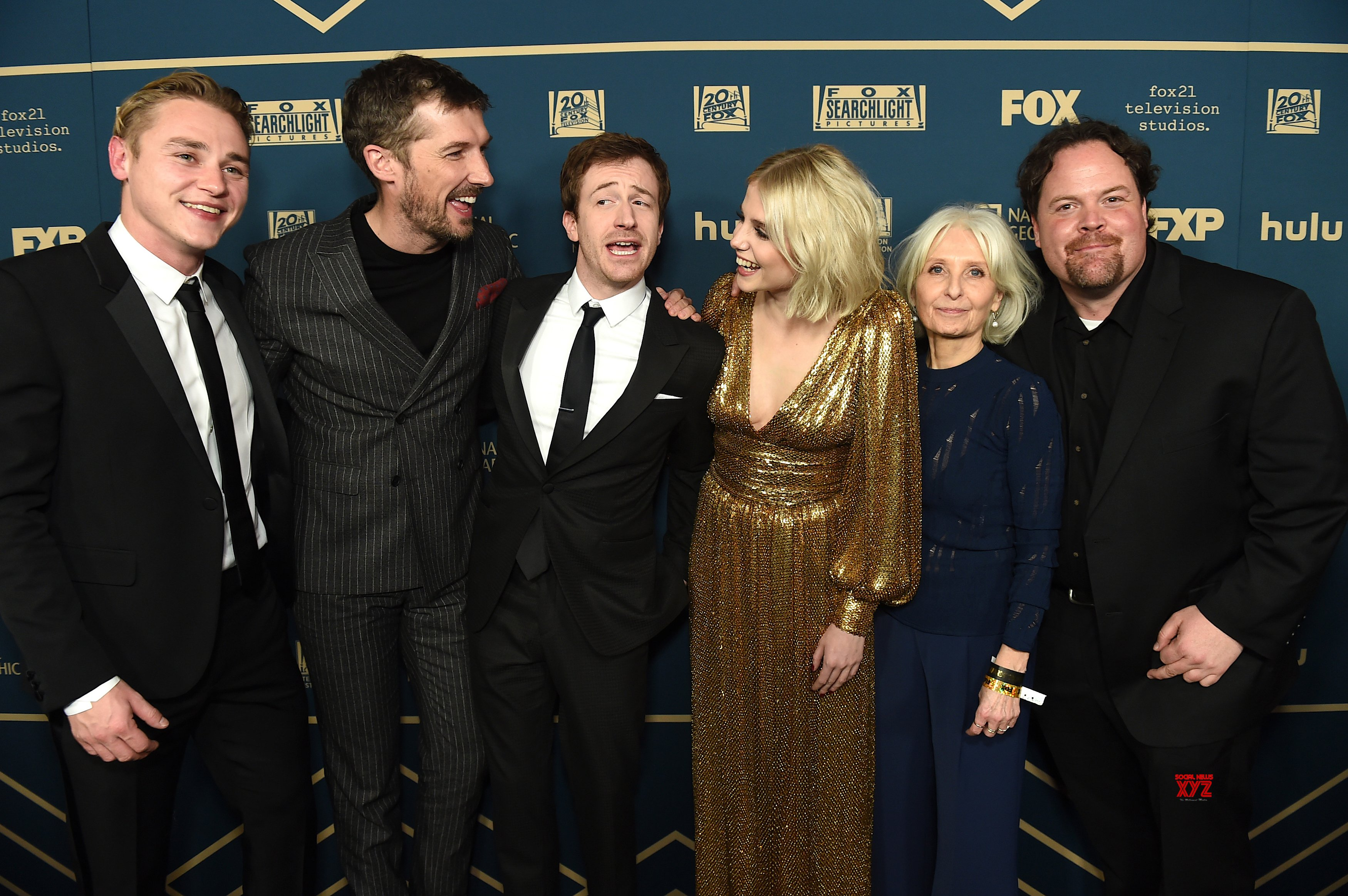 Bohemian Rhapsody Movie Team At Golden Globes Fox Party HD