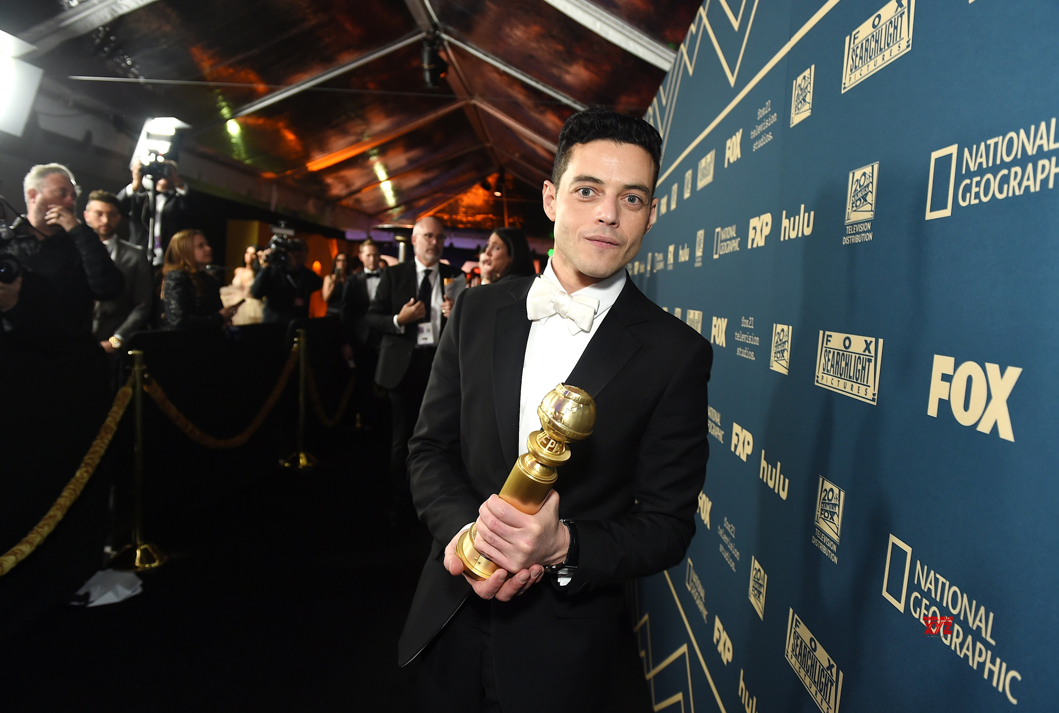 Bohemian Rhapsody Movie Team At Golden Globes Fox Party HD