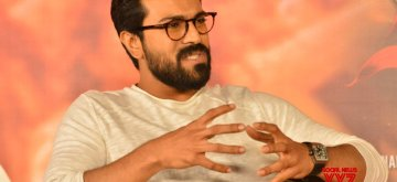 "Hyderabad: Actor Ram Charan during an interview regarding their upcoming film ""Vinaya Vidheya Rama"" in Hyderabad. (Photo: IANS)"