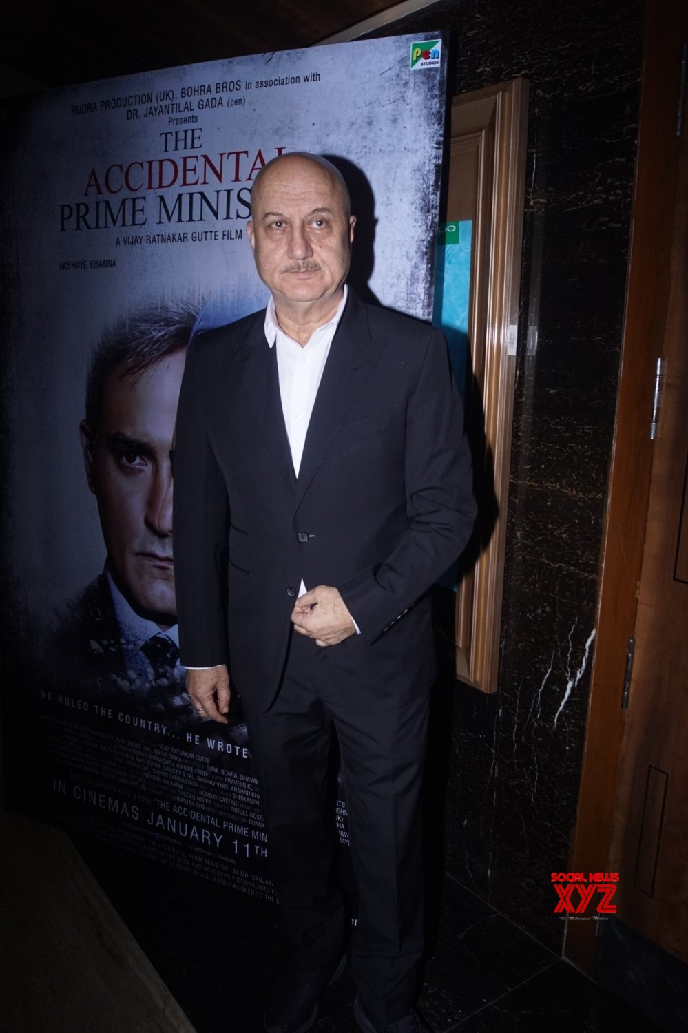 "Mumbai: Screening of film ""Accidental Prime Minister"" #Gallery"