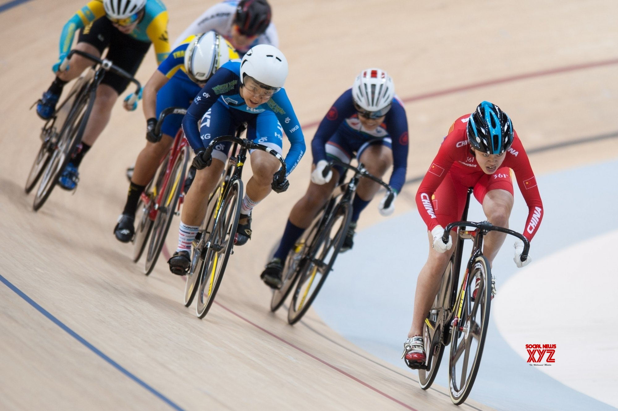 INDONESIA - JAKARTA - CYCLING - JUNIOR ASIAN TRACK CHAMPIONSHIP 2019 - JUNIOR WOMEN'S KEIRIN - FINAL #Gallery