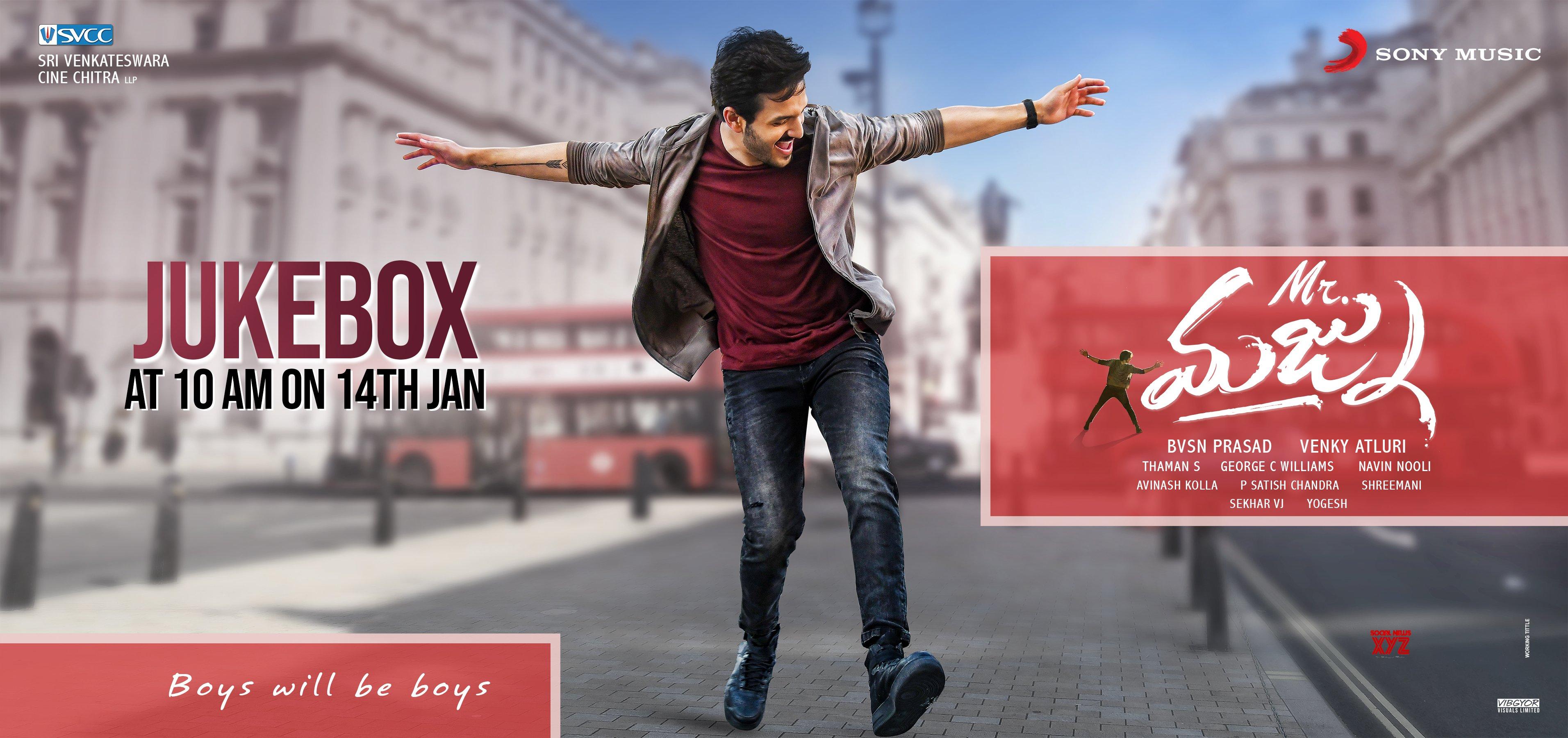 Mr.Majnu Jukebox On January 14 HD Poster And Still