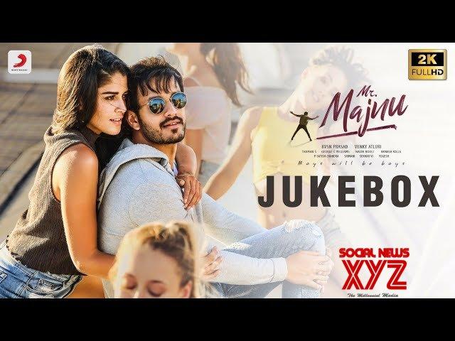 Akhil's Mr.Majnu movie jukebox released
