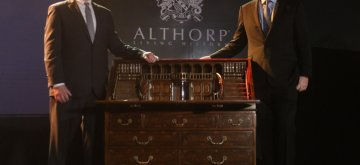 New Delhi: 9th Earl Spencer, Charles Spencer during a programme organised to unveil furniture maker Theodore Alexander's Althorp Living History collection - based on originals from Althorp English Stately Home - in New Delhi on Jan 22, 2019. (Photo: IANS)