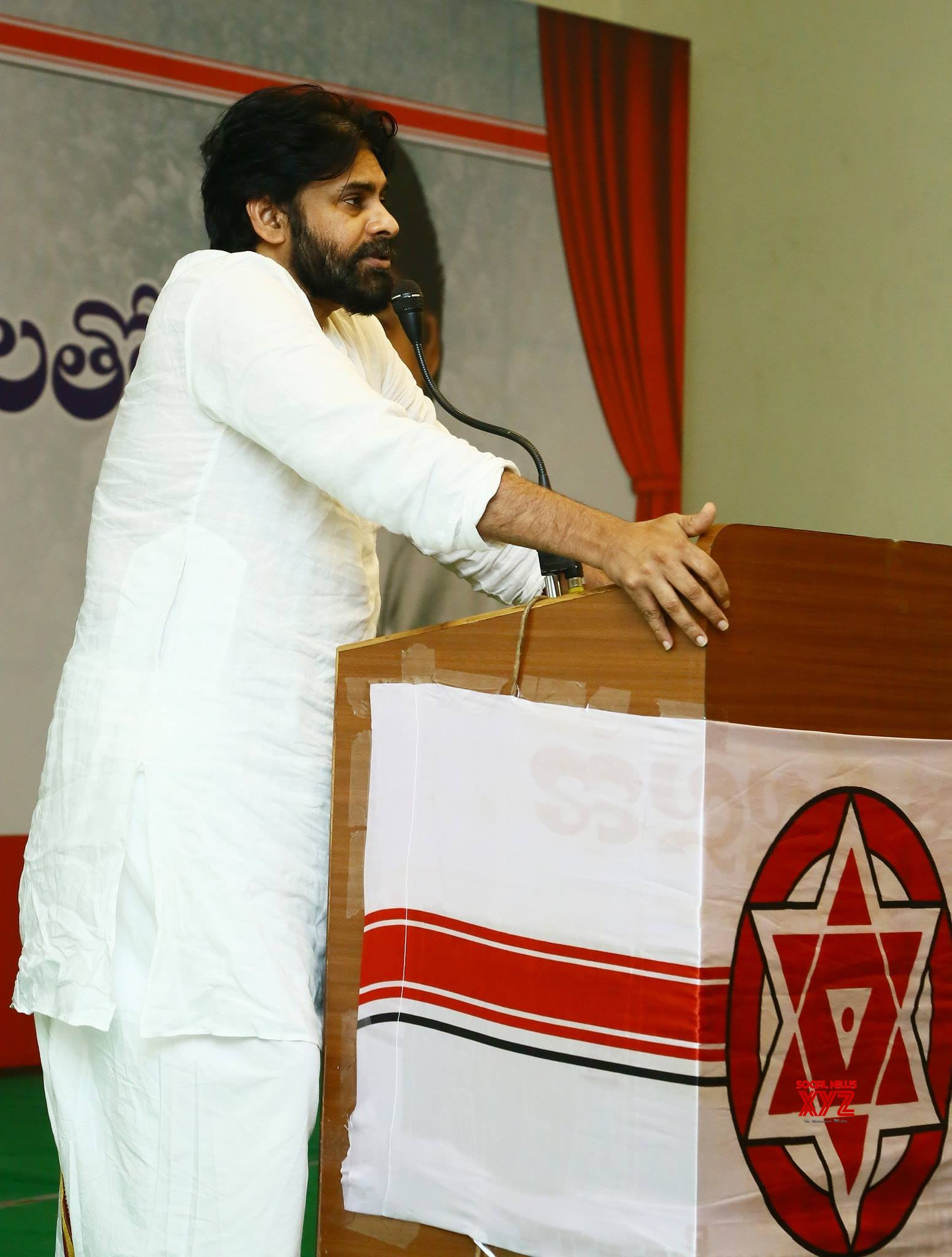 JanaSena Chief Pawan Kalyyan Interacts With Srikakulam JanaSainiks - Gallery