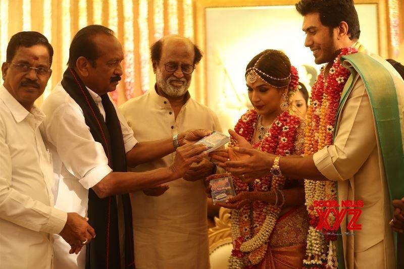 Chennai: Soundarya - Vishagan wedding #Gallery