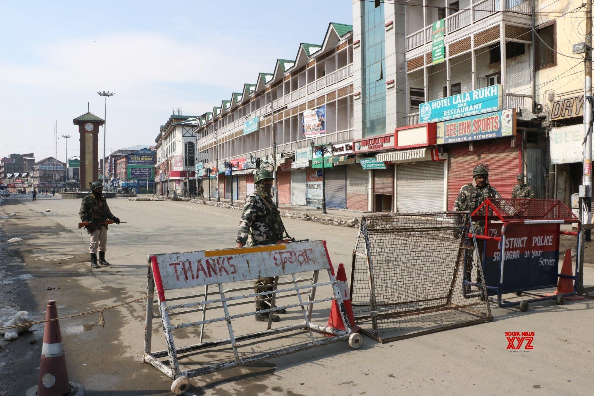 Separatist shutdown in Kashmir Valley