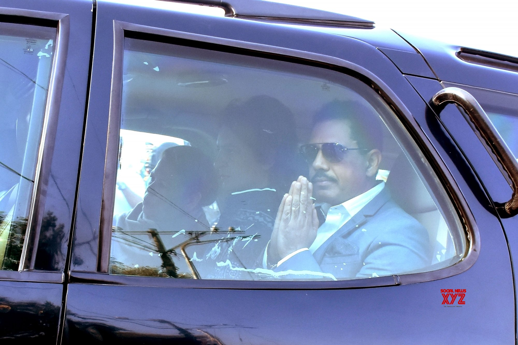Robert, Maureen Vadra arrives at Jaipur ED office