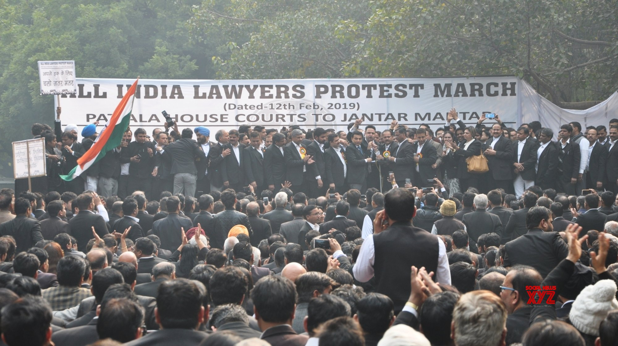 New Delhi: Lawyers' demonstration #Gallery