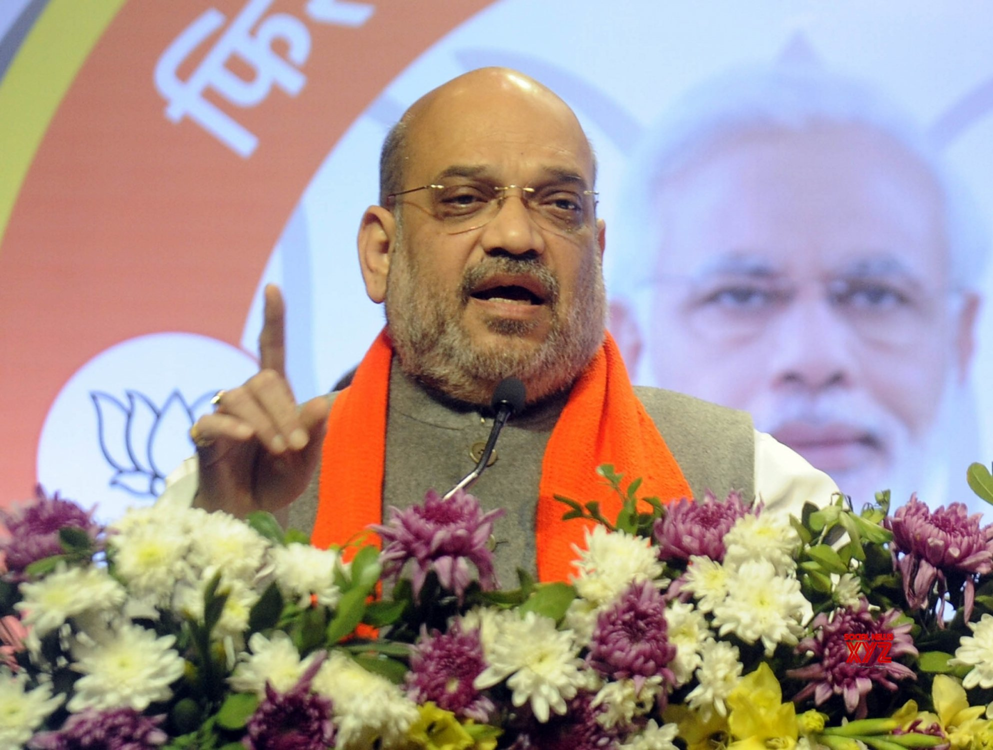 Ahmedabad: Amit Shah launches BJP campaign #Gallery