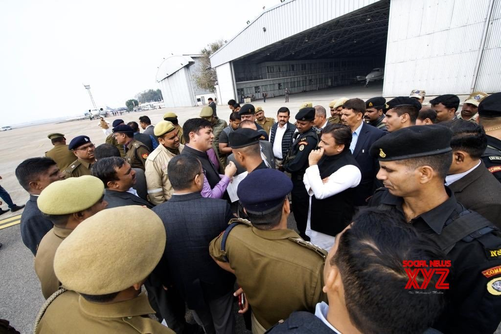 Lucknow: UP government stopped me from visiting Prayagraj: Akhilesh #Gallery