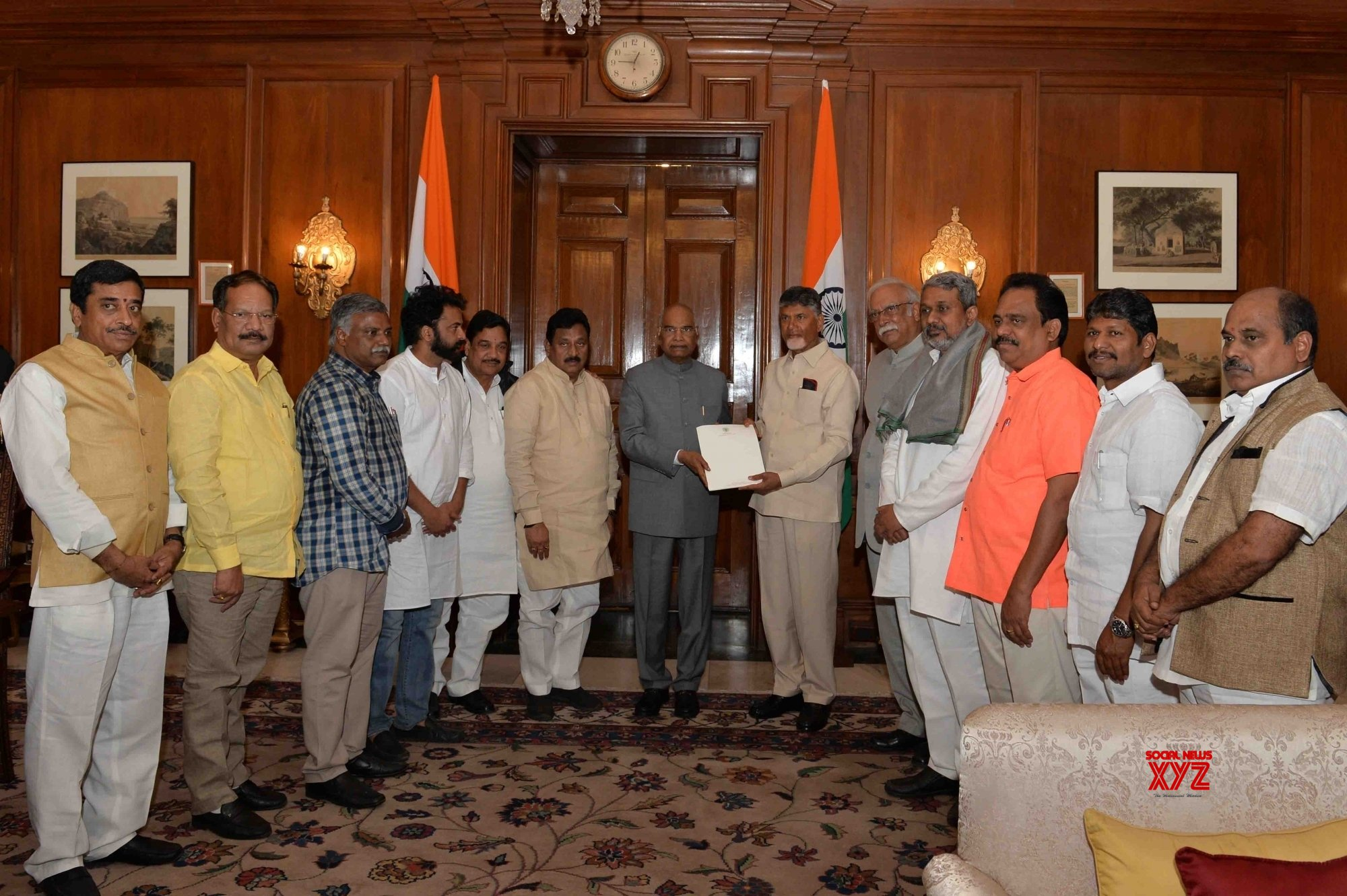 New Delhi: Andhra CM calls on President Kovind #Gallery