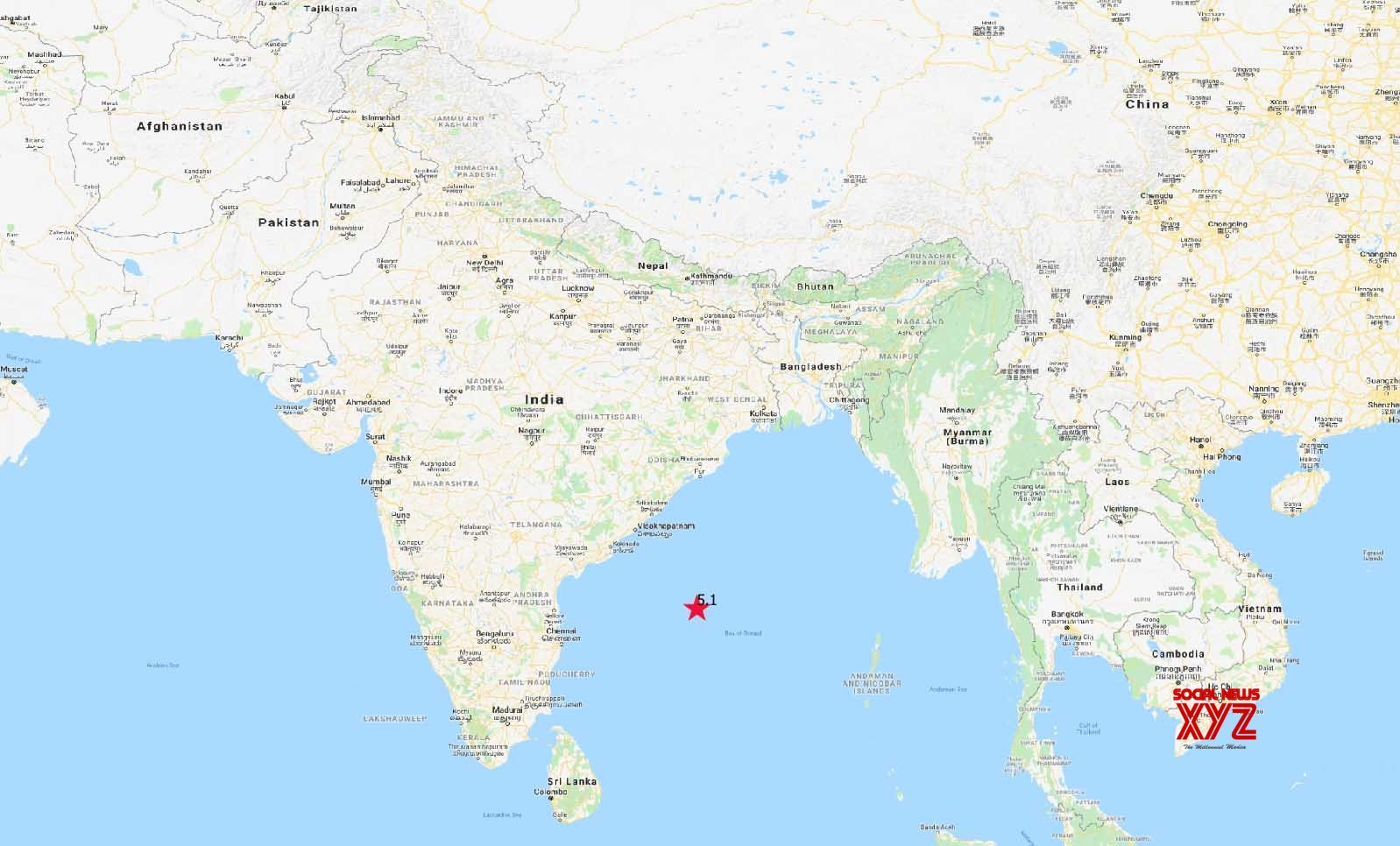 Chennai: Earthquake in sea #Gallery