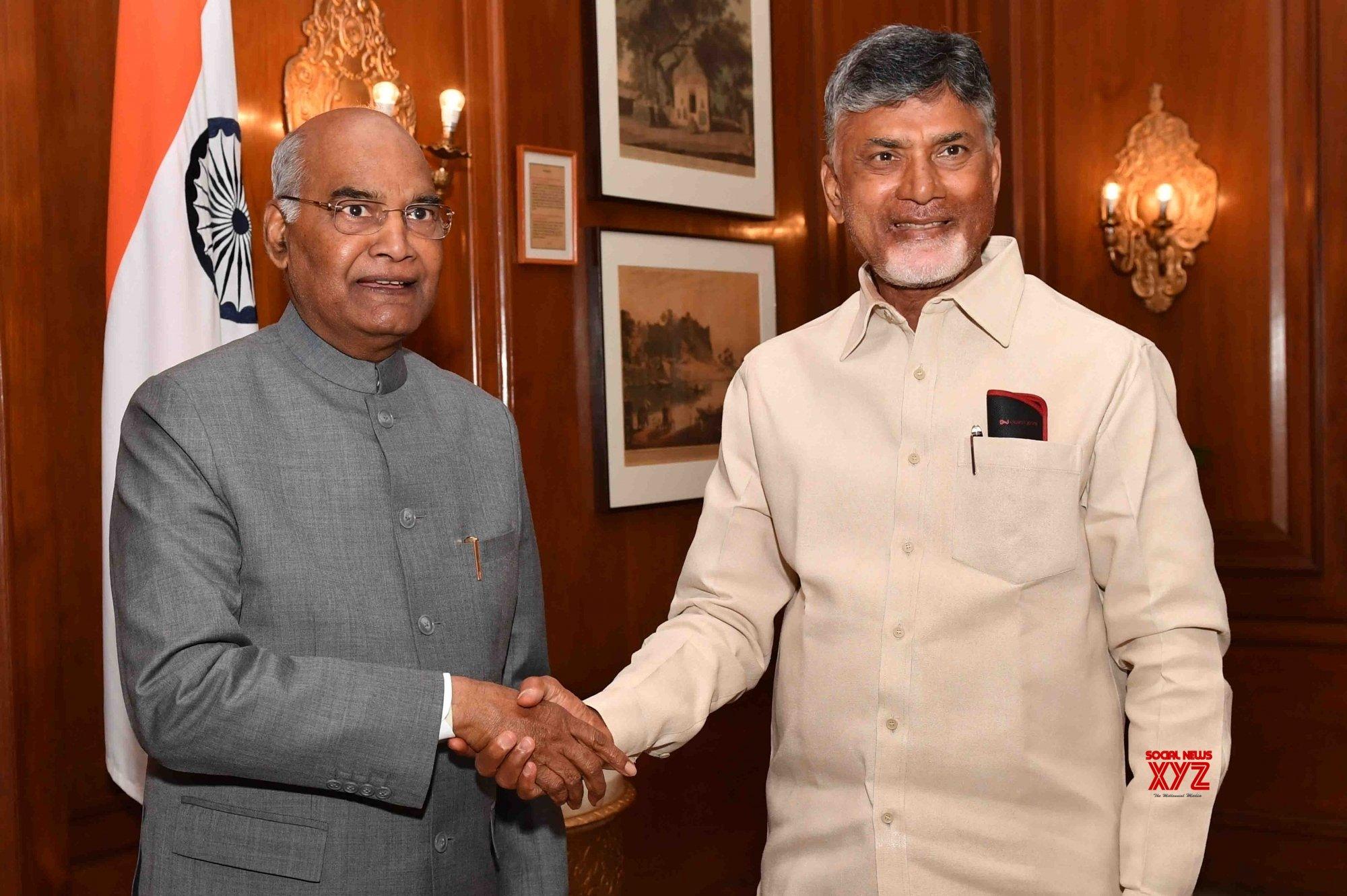 Andhra CM seeks President's intervention for 'justice'