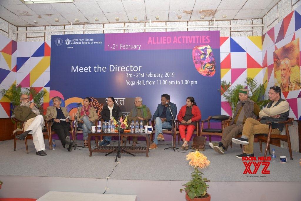 New Delhi: 20th Bharat Rang Mahotsav (BRM) - Directors Meet #Gallery