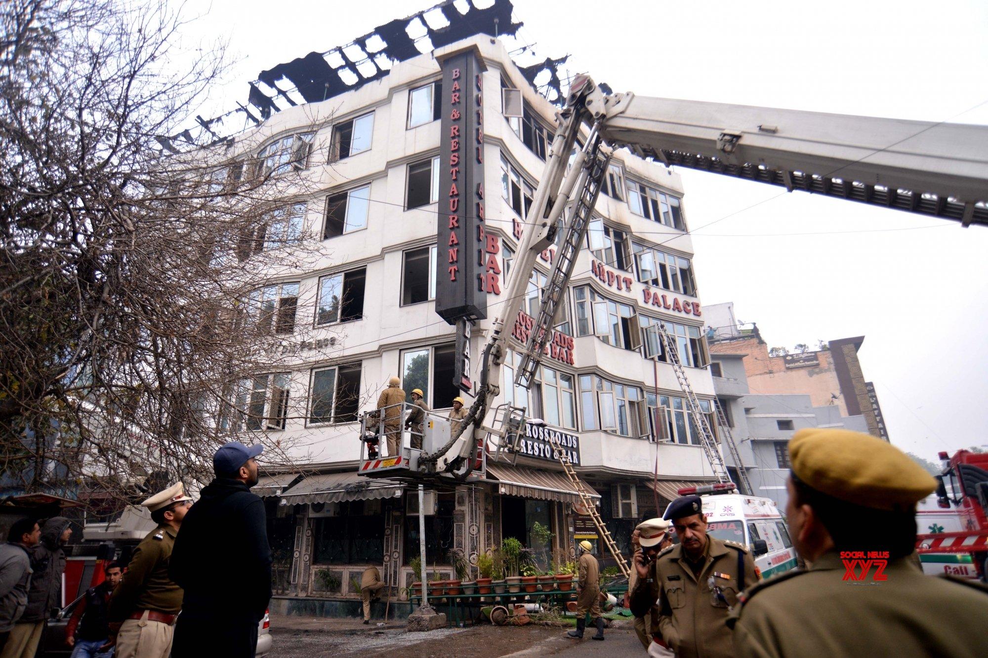 New Delhi: 17 killed in Delhi blaze #Gallery