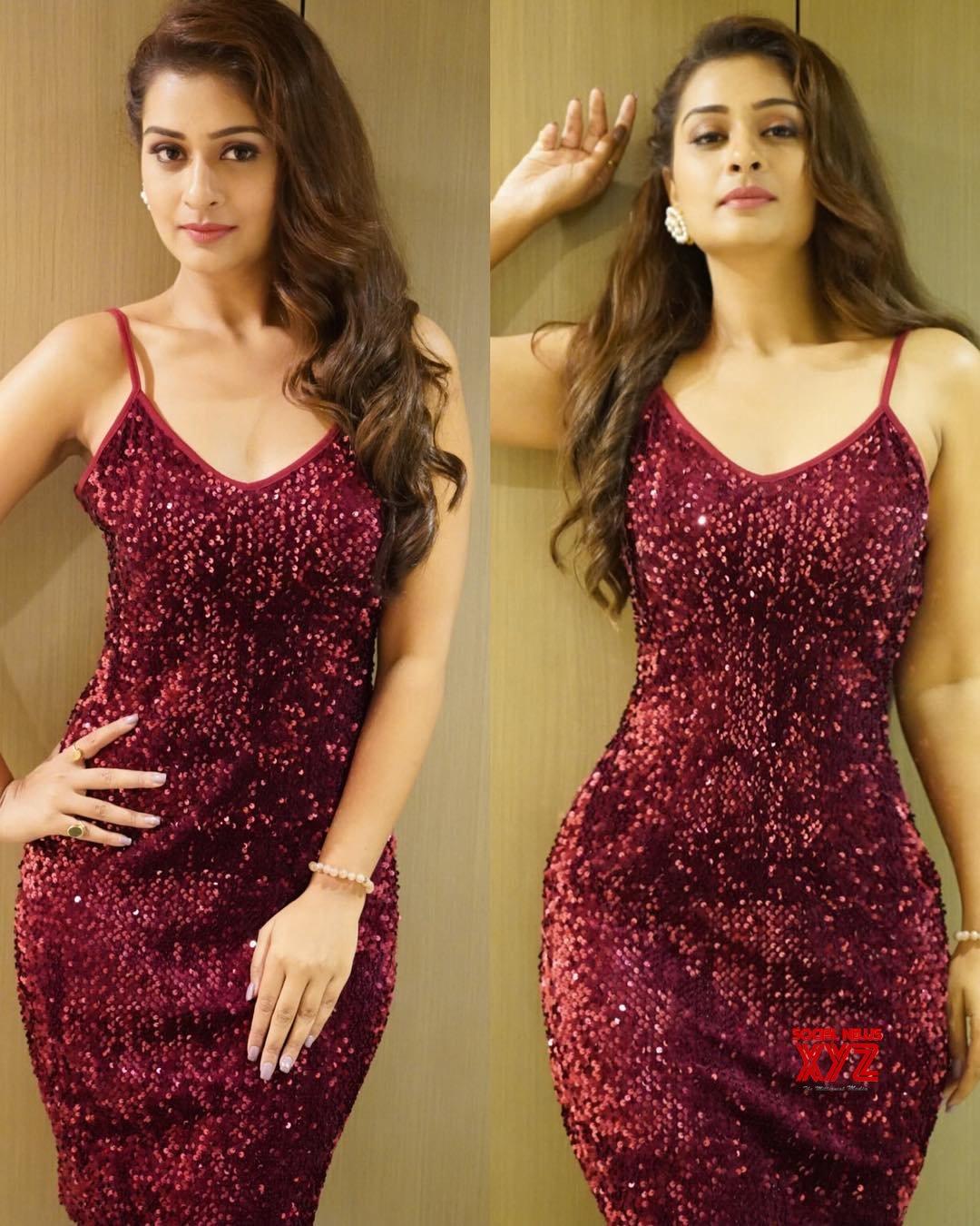 Actress Payal Rajput Hot Stills In Shein Design