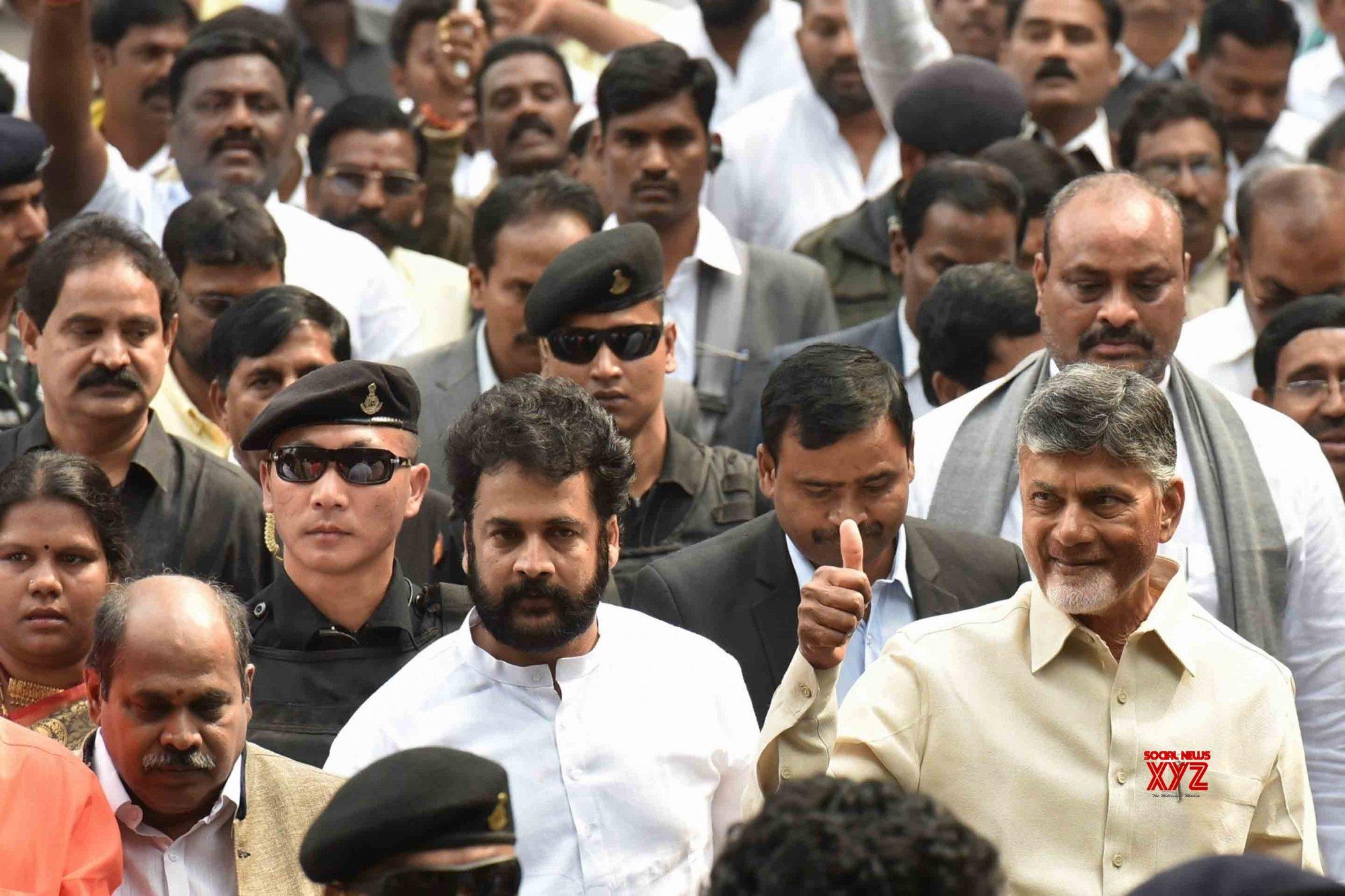 New Delhi: Andhra CM calls on President Kovind (Batch - 3) #Gallery