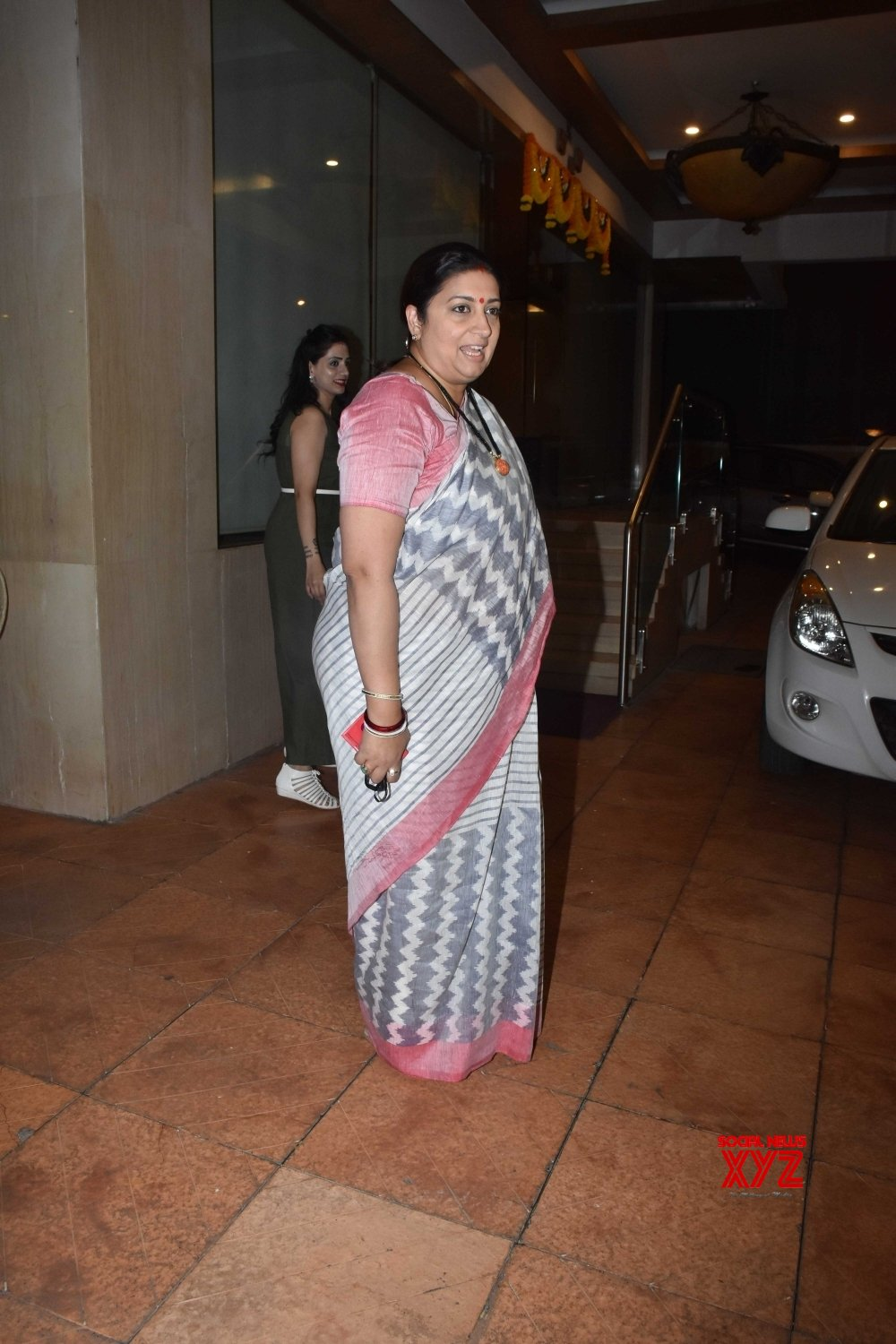 Mumbai: Naming ceremony of Ekta Kapoor's son - Smriti Irani #Gallery
