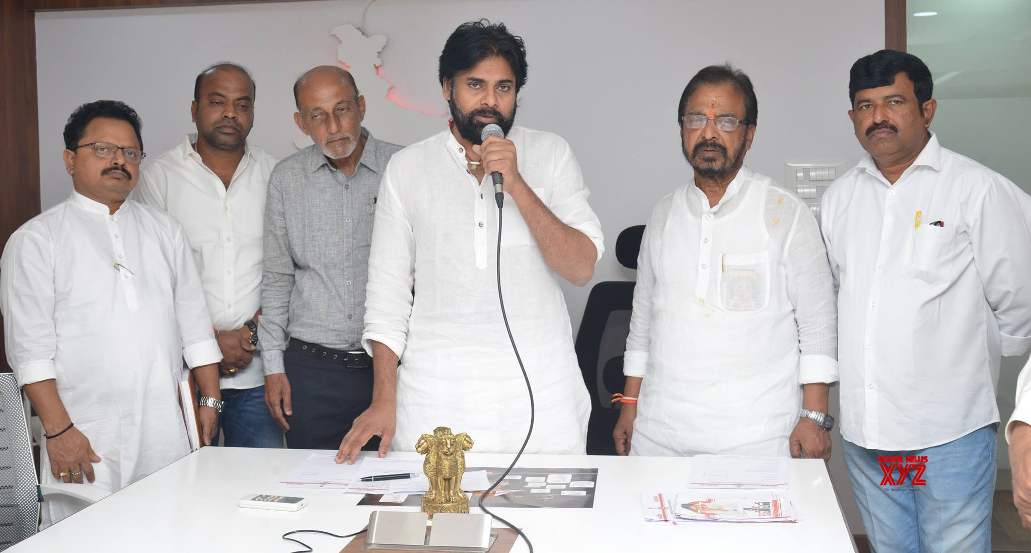 Janasena Chief Pawan Kalyan Meeting With Janasena Screening Committee - Gallery