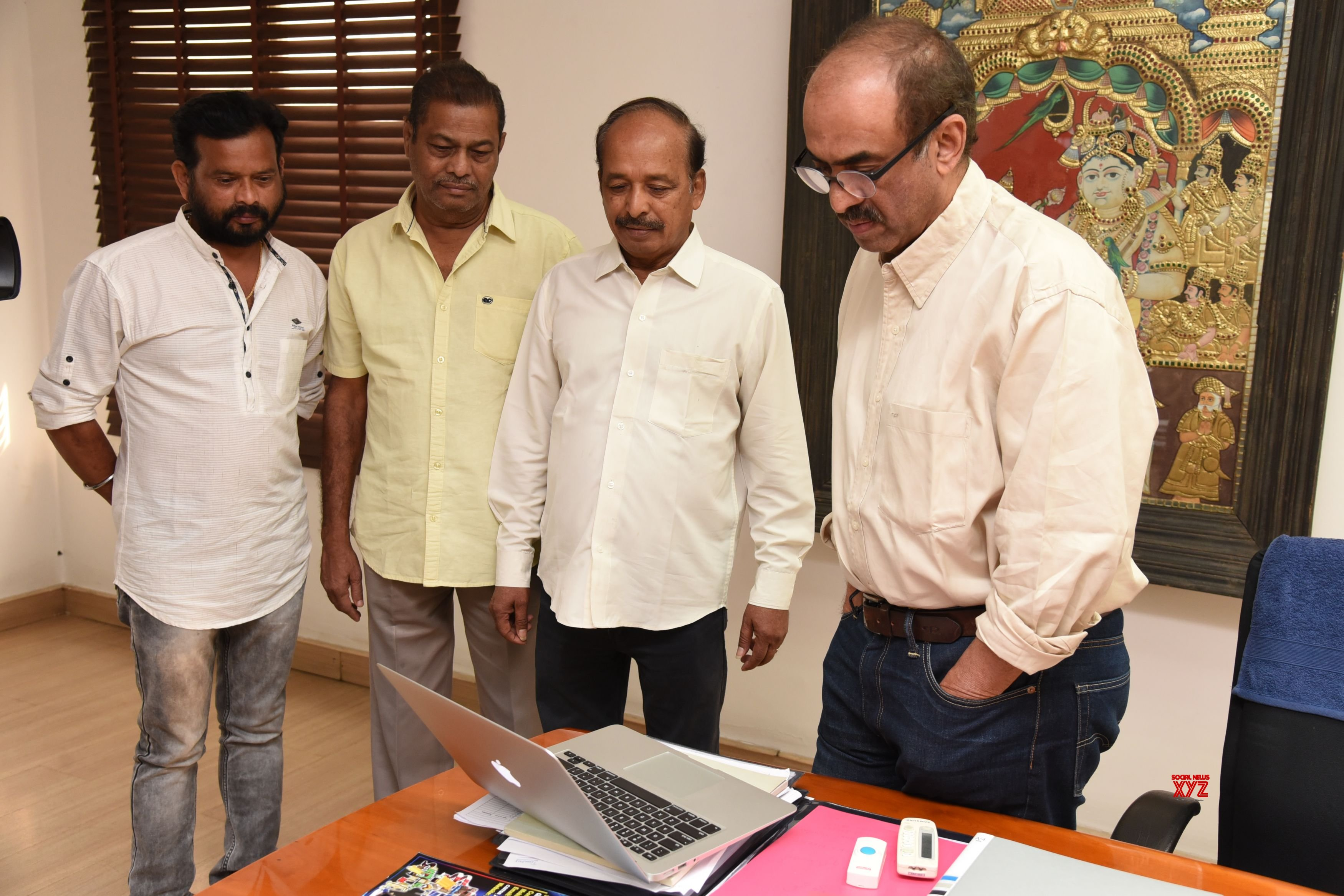 Noted Producer Suresh Babu launches the trailer of Nayanthara's 'Anjali CBI'