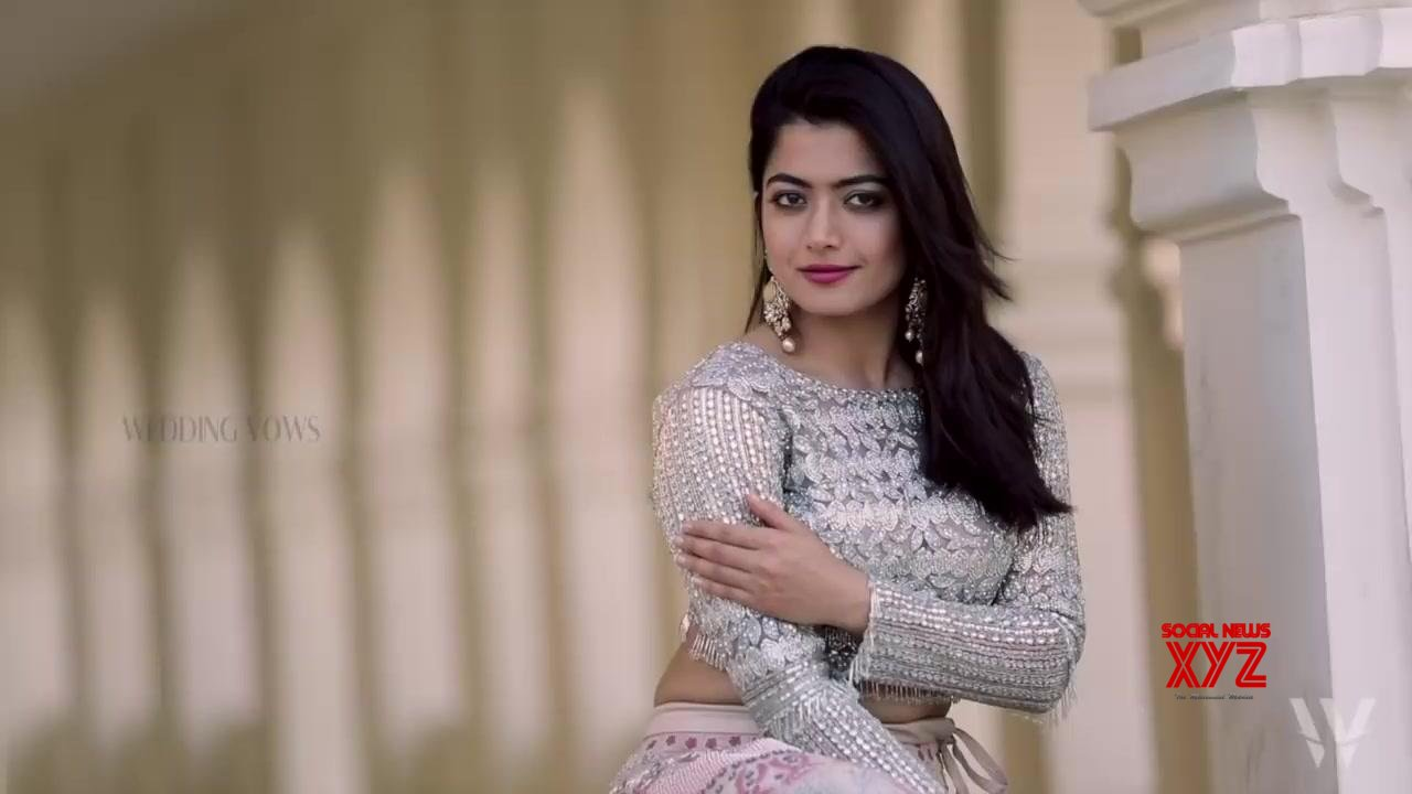 Wedding Vows Cover Shoot With Rashmika Mandanna Stills