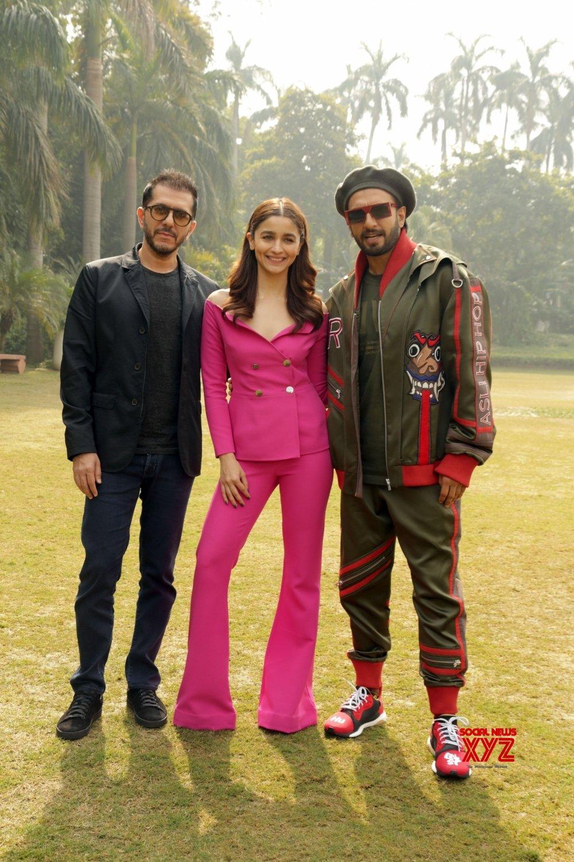 "New Delhi: ""Gully Boy"" press conference - Ranveer Singh, Alia Bhatt #Gallery"