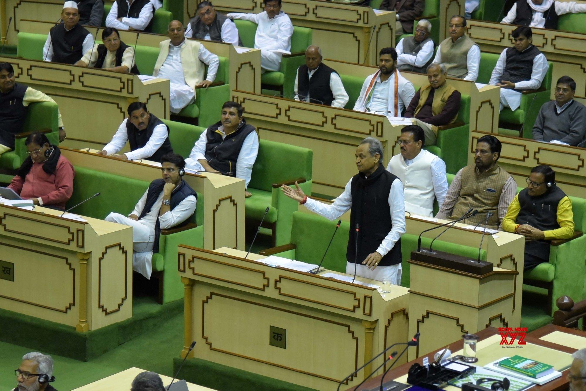 Jaipur: Rajasthan Budget Session #Gallery