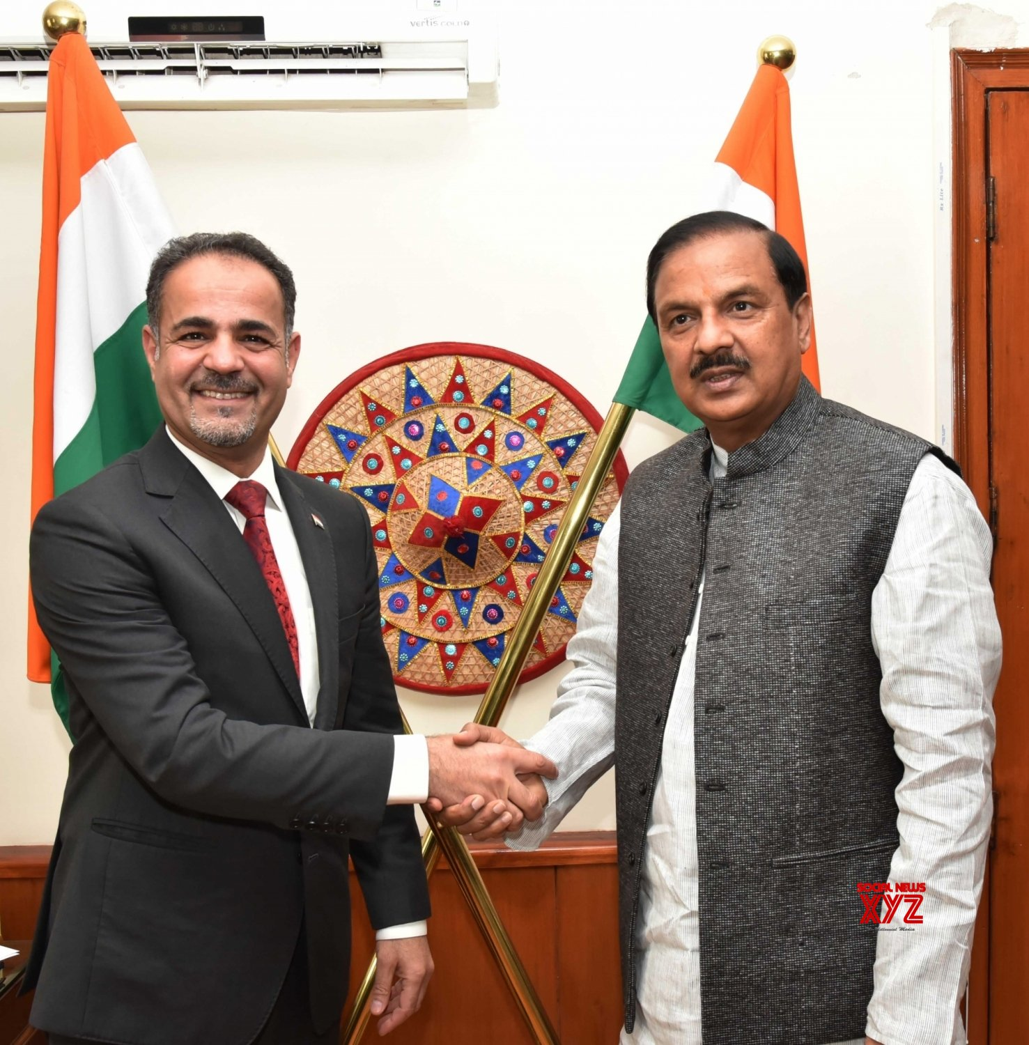 New Delhi: Iraq Ambassador meets Mahesh Sharma #Gallery