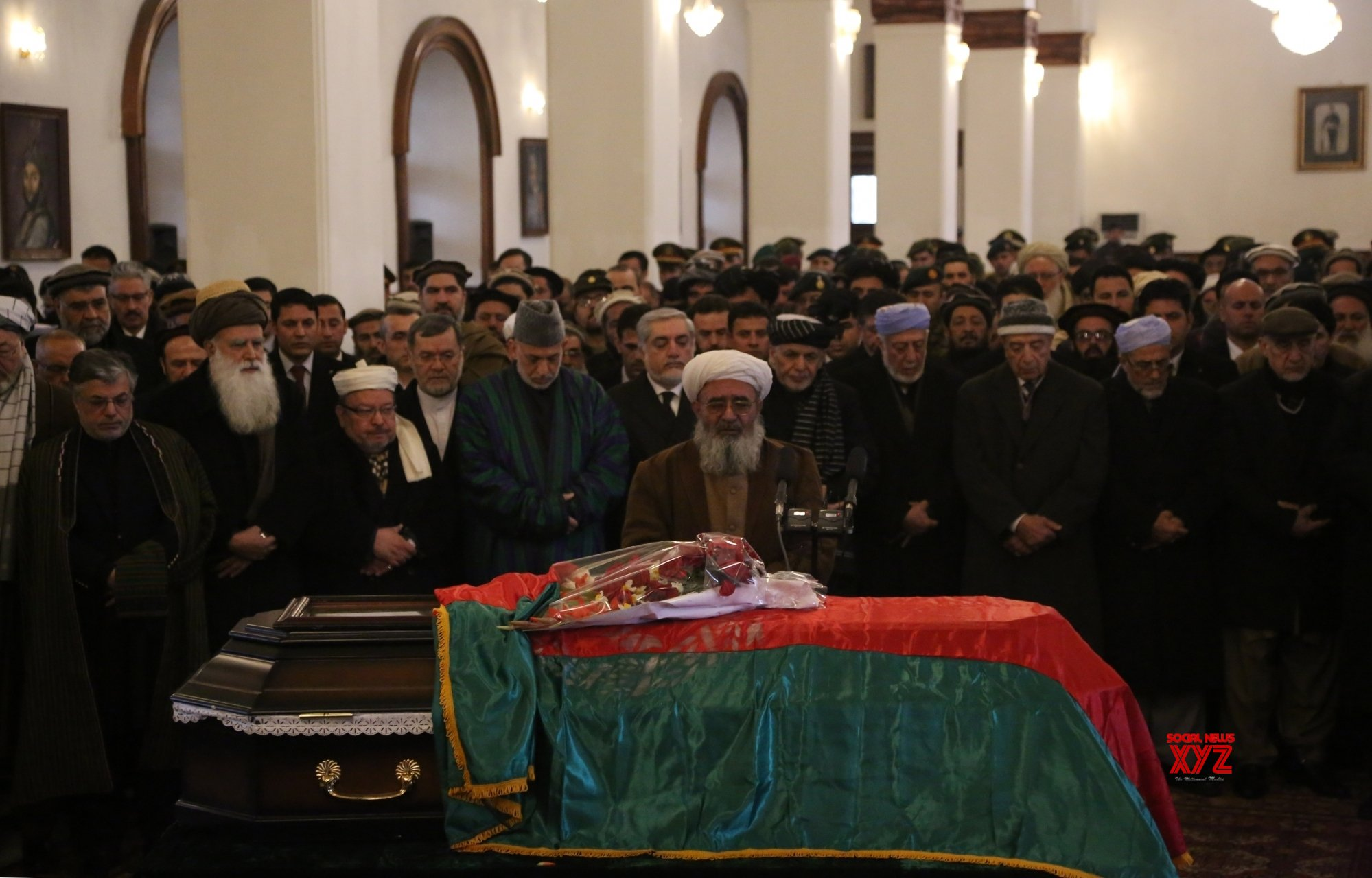 AFGHANISTAN - KABUL - FUNERAL CEREMONY - FORMER PRESIDENT #Gallery