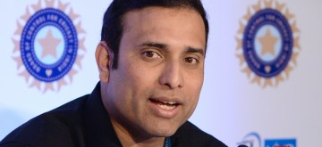 Bengaluru: Sunrisers Hyderabad mentor VVS Laxman addresses during a press conference at Indian Premier League (IPL) Players' Auction in Bengaluru on Jan 27, 2018. (Photo: IANS)