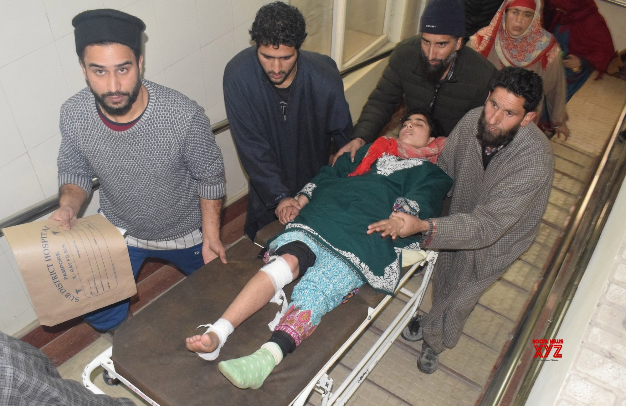 Pulwama: 28 students injured in explosion in Kashmir tuition centre #Gallery