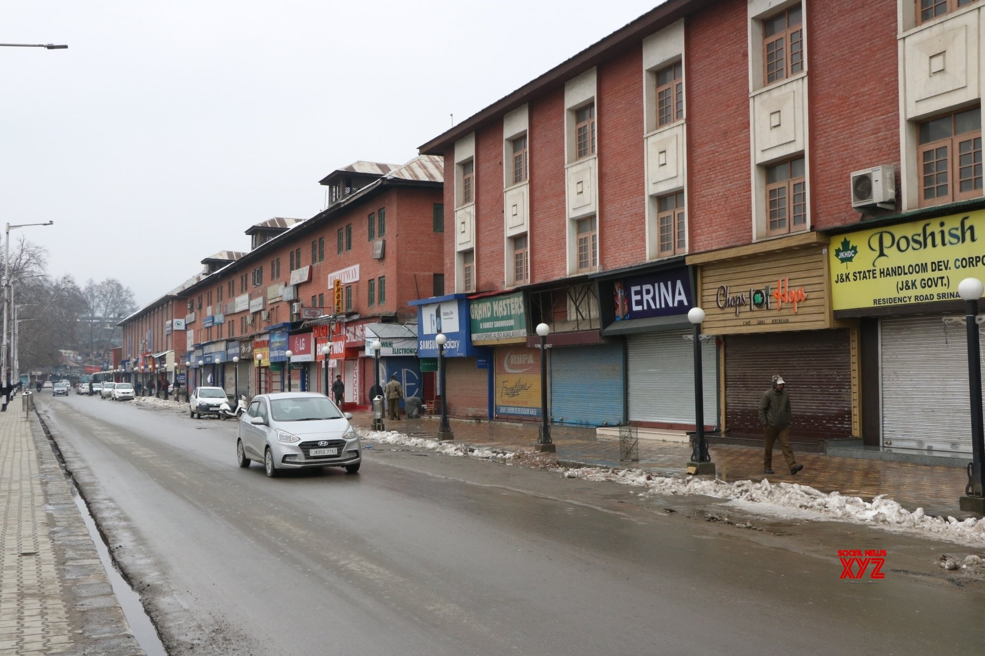 Shutdown in support of Article 35-A hits life in Valley
