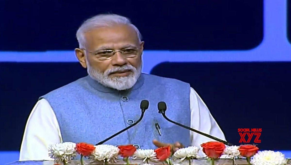 """New Delhi: """"CREDAI YouthCon 2019"""" - PM Modi #Gallery"""