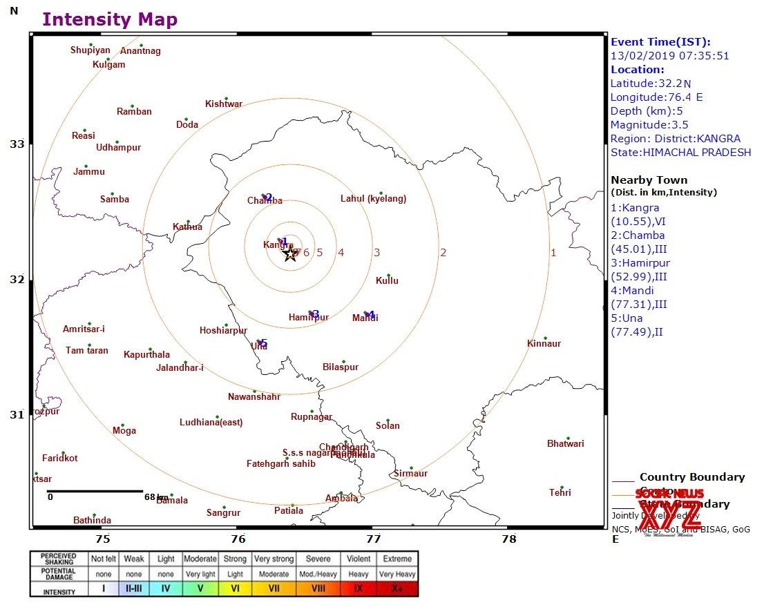 Kangra: Mild earthquake in Himachal #Gallery